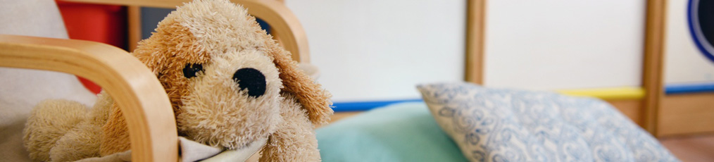 chair with dog